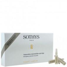 SOTHYS Anti-ageing essential ampoules - Омолаживающий анти-возрастной ампульный концентрат 7 х 1.5мл