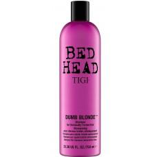 TIGI Bed Head DUMB BLONDE™ Shampoo for Blonde Hair - Шампунь для блондинок 750мл
