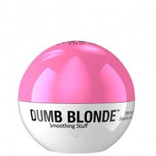 TIGI Bed Head DUMB BLONDE™ Smoothing Stuff - Текстурирующий крем для укладки волос, блеска и защиты 50мл